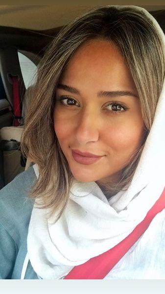 ظاهر جدید پریناز ایزدیار + عکس