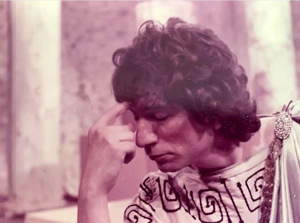 آتیلا پسیانی در ۴۰سال پیش + عکس