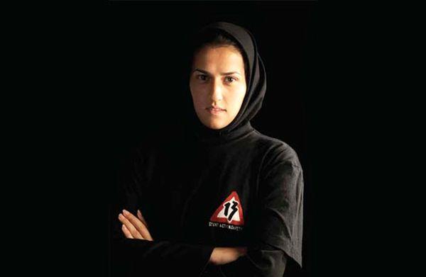 مهسا احمدی، بهترین بدلکار زن دنیا +عکس