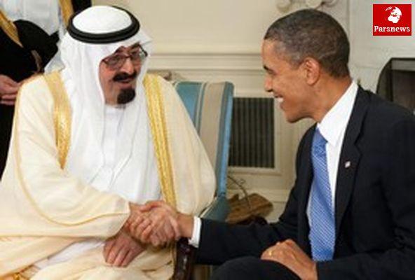 دیدار اوباما با پادشاه عربستان