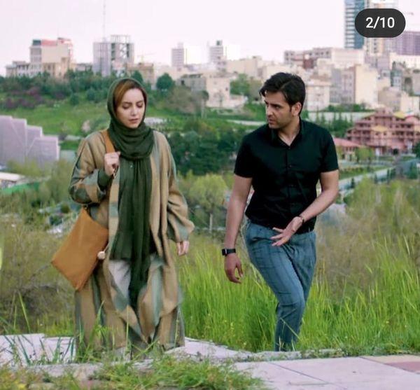 امیرحسین آرمان در سریال مانکن+عکس